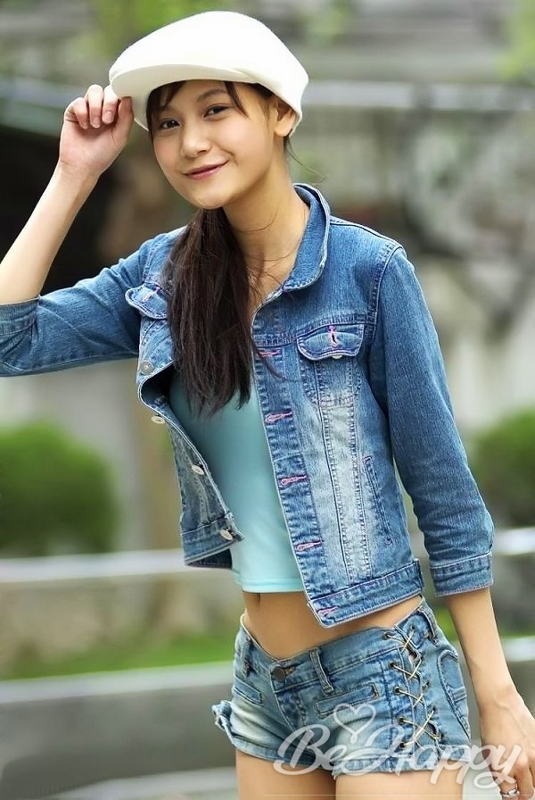 beautiful girl MengXin
