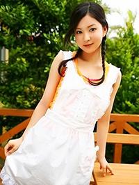 Asian woman Xiao from Shuangyashan, China