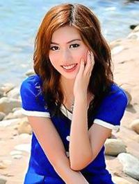 Asian woman Miaoqian from Baiyun, China