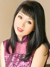 Asian woman Li from Fushun, China