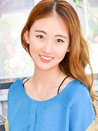 Asian woman Hongyue from Benxi, China