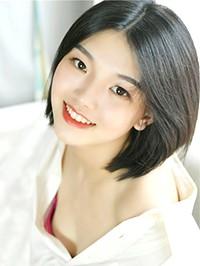 Asian woman Yi from Huangjue, China