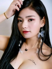 Asian woman Can from Changsha, China