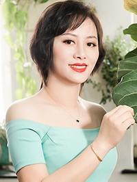 Asian woman Miaomiao from Mishan, China