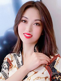 Asian woman Meng from Henan, China