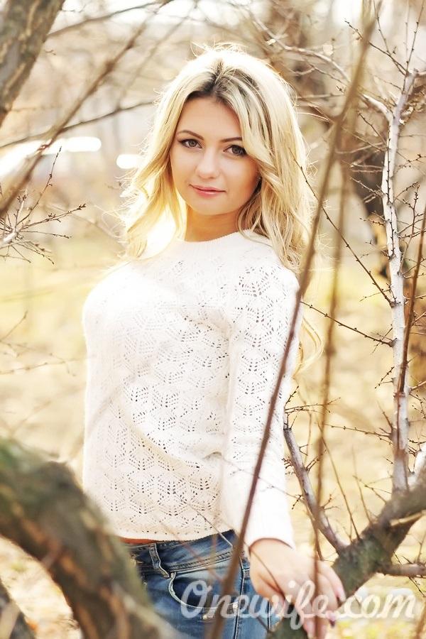 Russian bride Anna from Konstantynovka