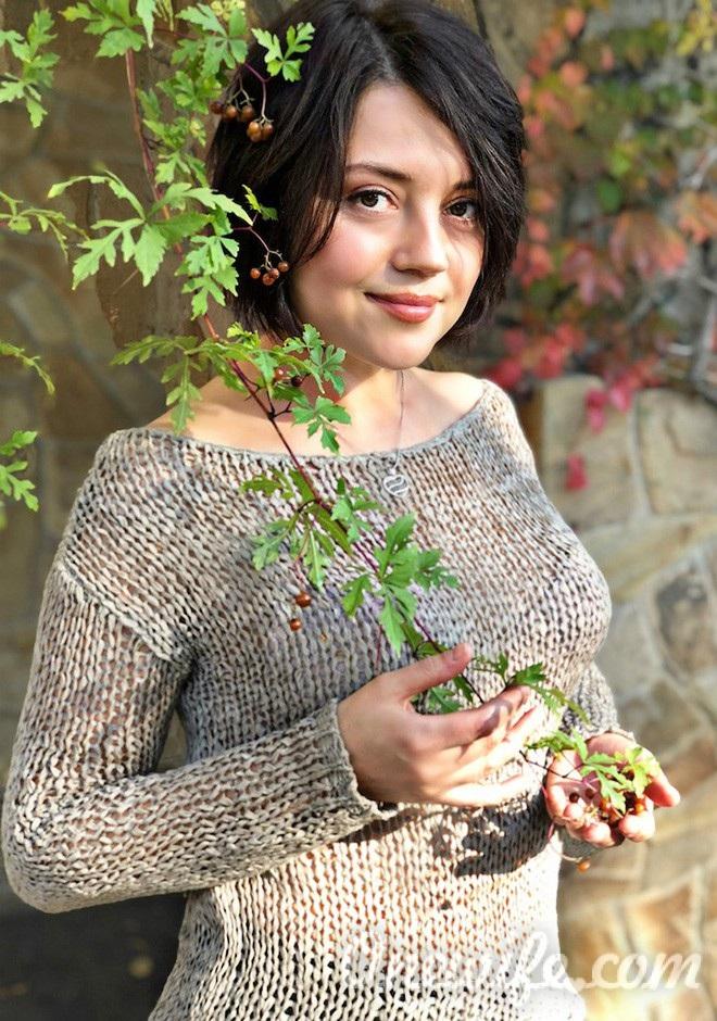 Russian bride Kristina from Zaporozhye