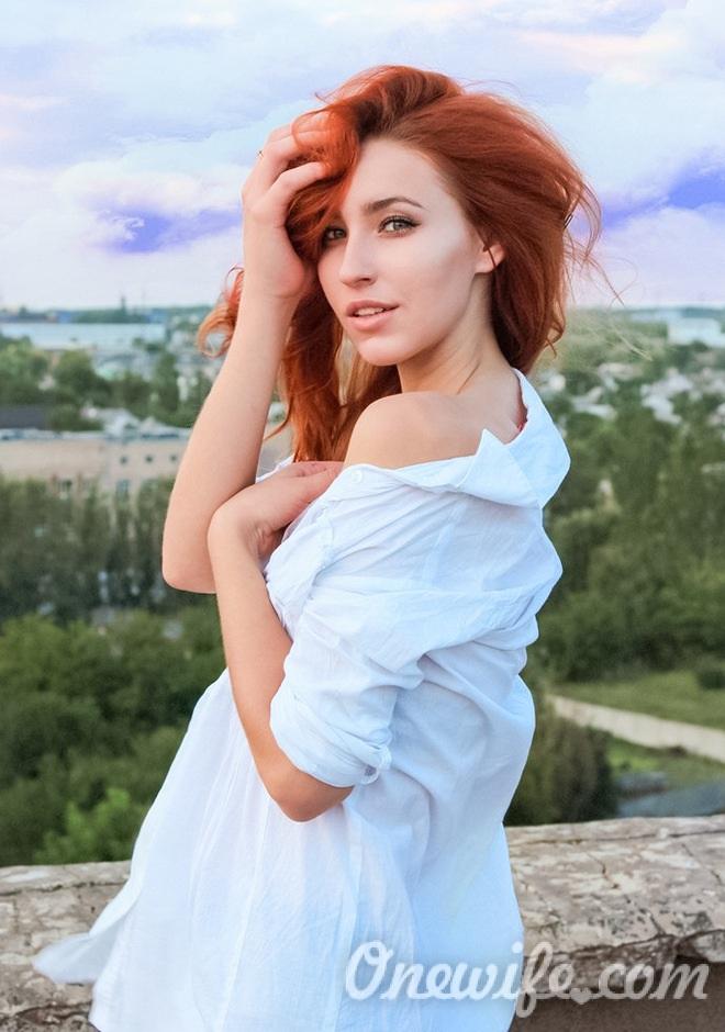 Russian bride Alina from Zaporozhye