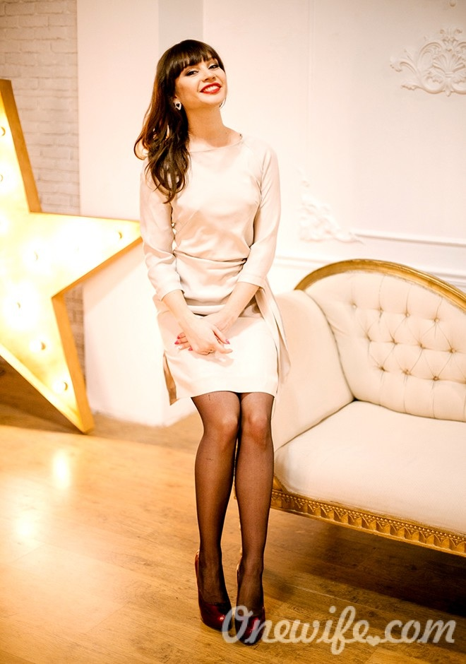 Russian bride Yuliia from Odesa